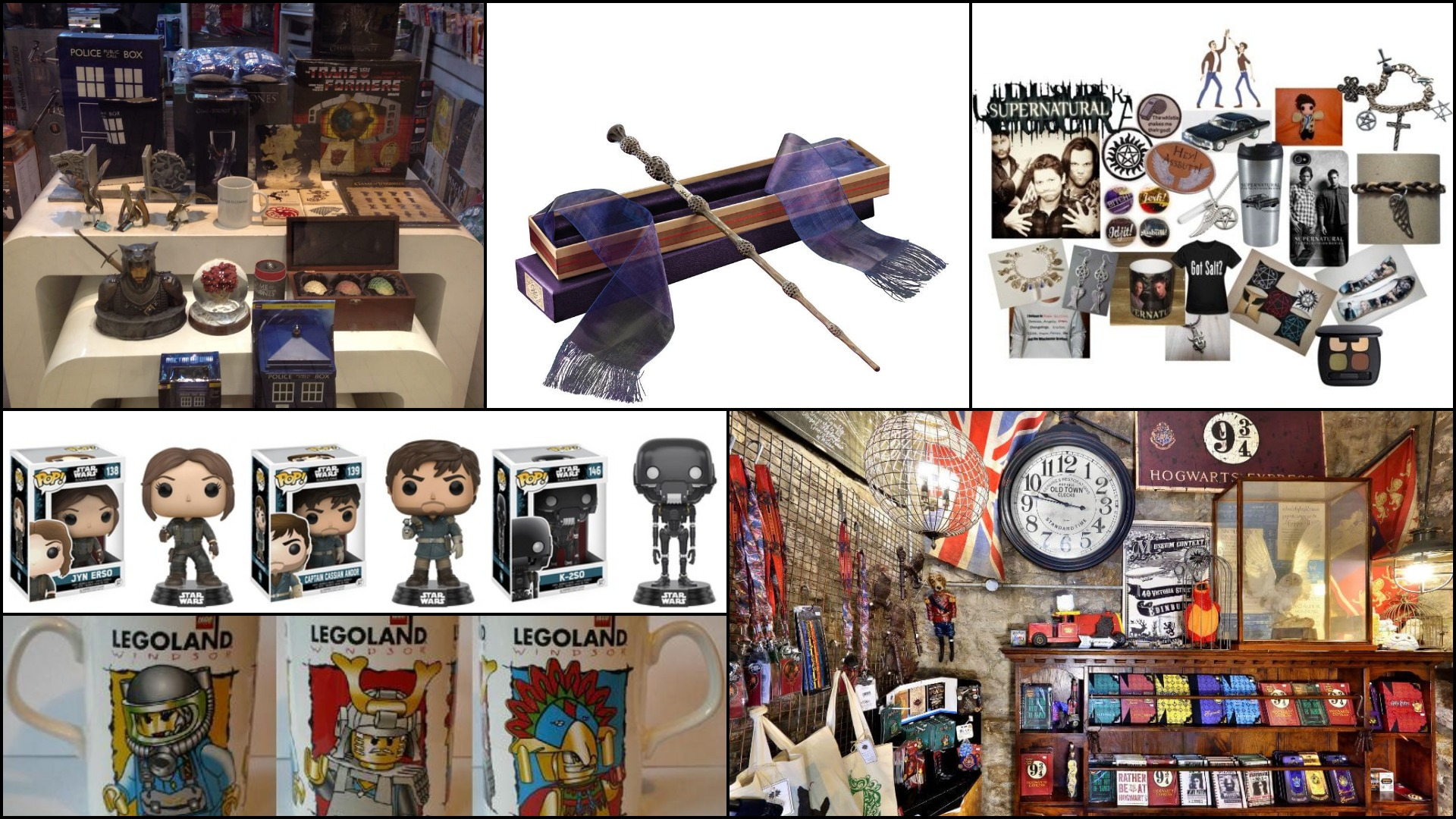 Fandom merchandise - gifts