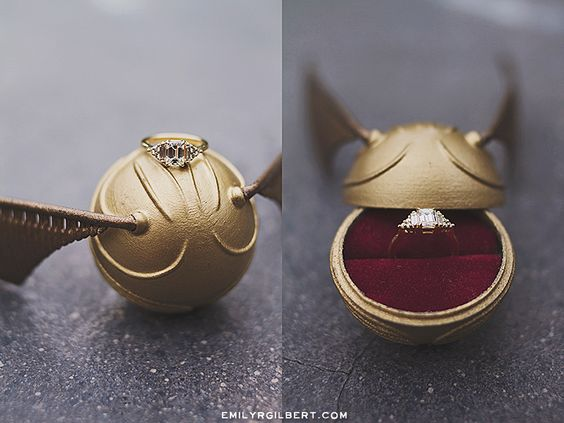 Engagement Rings For Harry Potter Fans Proposal Ideas For Potterheads